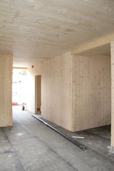 Nouvelle construction d'une garderie 1. phase de construction