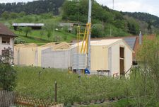 Hay drying hall in NUR-HOLZ construction