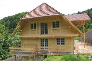 New construction of a NUR-HOLZ Black Forest house