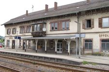 Renovation of a former railway station